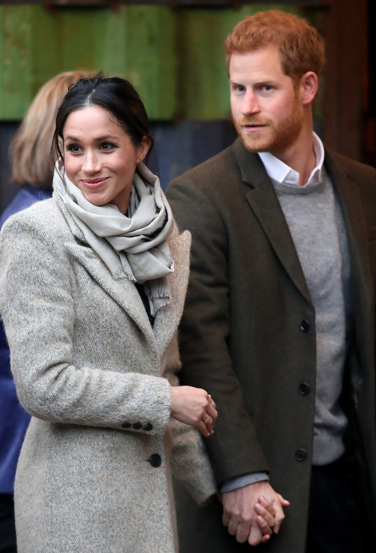 Image: Prince Harry and Meghan Markle Visit Reprezent
