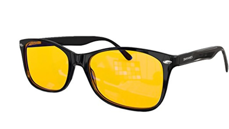 Amber Tinted Glasses