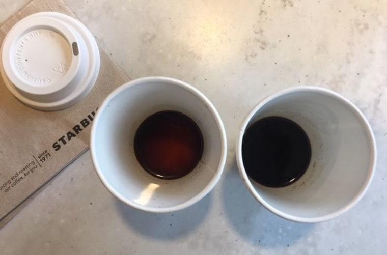 Signature and Blonde Espresso