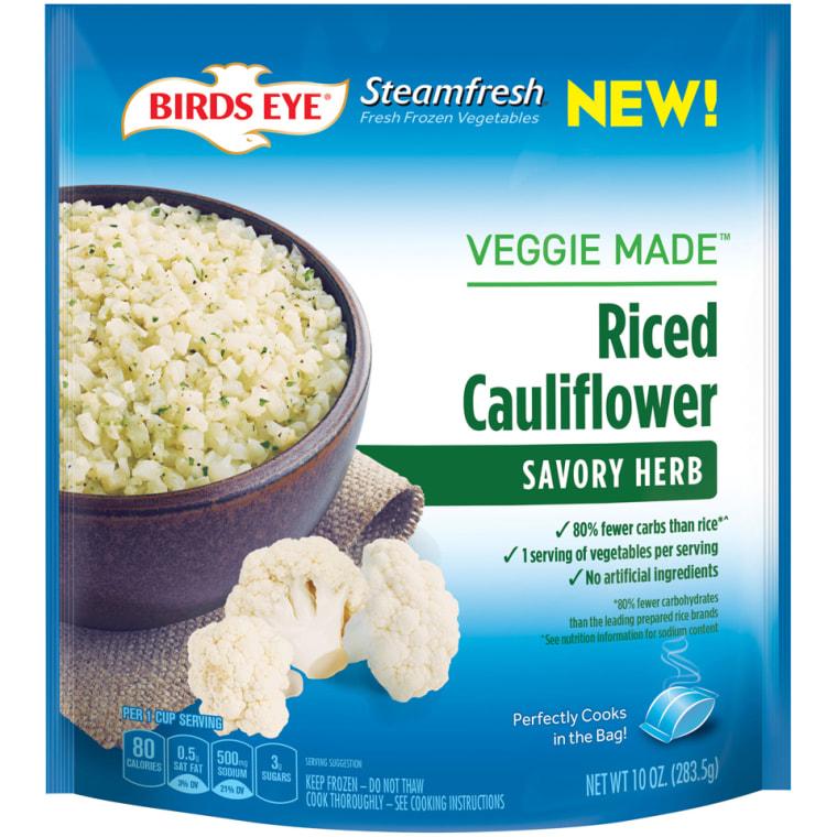 Bird's Eye Veggie Riced Cauliflower