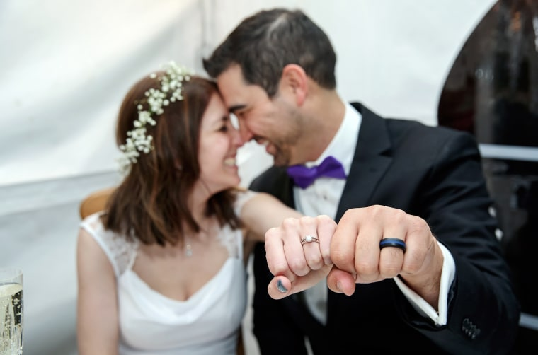 Woman gets engaged and married on same night