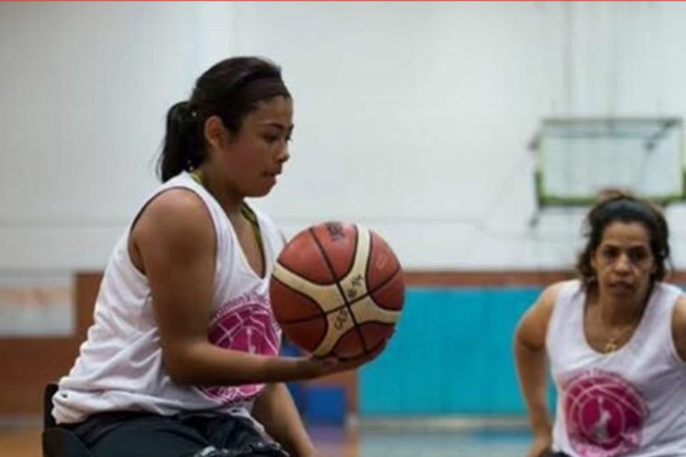 At 13, Ixhelt Gonzalez is the youngest person to try out for the U.S. Women's Wheelchair Basketball team in 20 years.