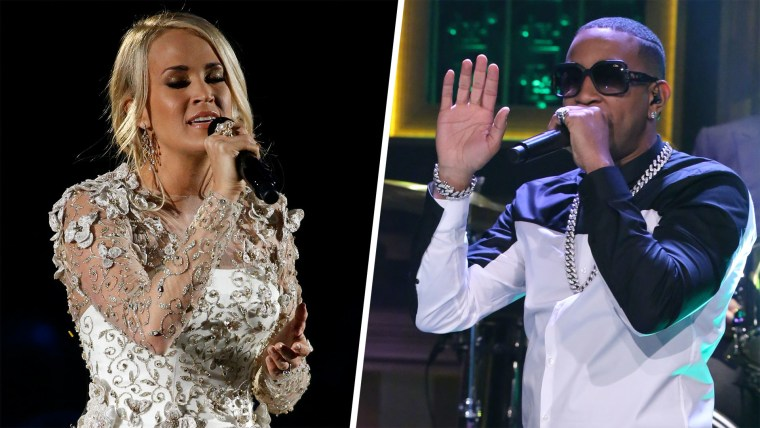 Carrie Underwood and Ludacris have teamed up for a song for Super Bowl LII.