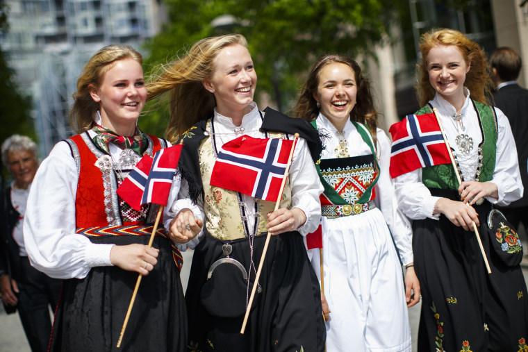 Image: Norwegian Constitution Day celebrations