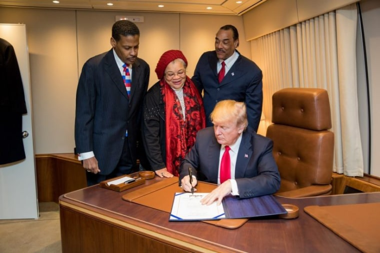 Image: President Donald J. Trump signs the Martin Luther King Jr. National Historical Park Act