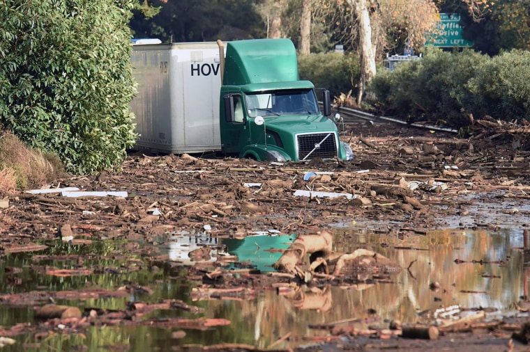Image: Montecito Flooding