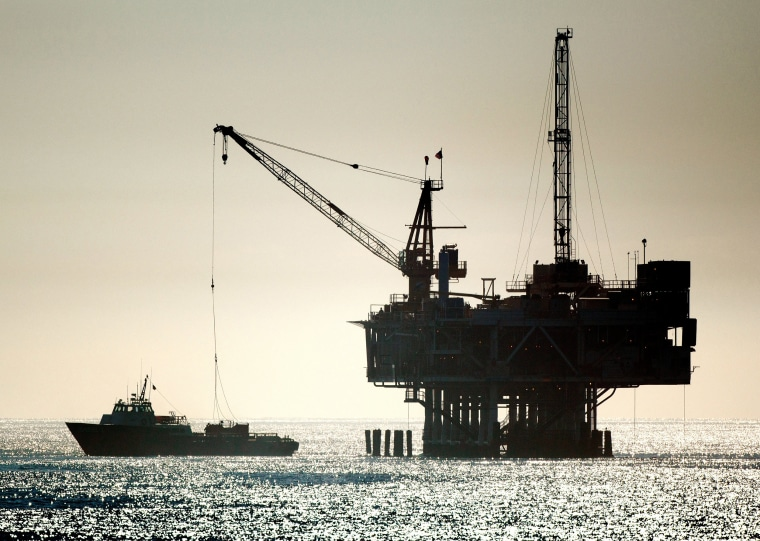 Image: Offshore drilling