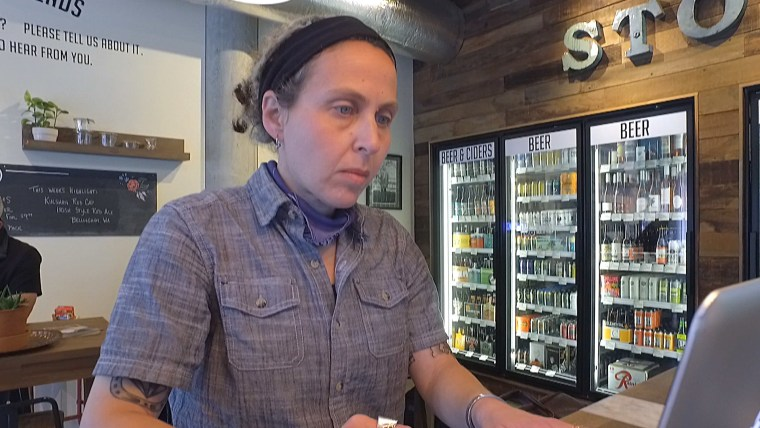 Dani Cone, founder of Seattle-based Cone and Steiner, which offers local goods and creates jobs