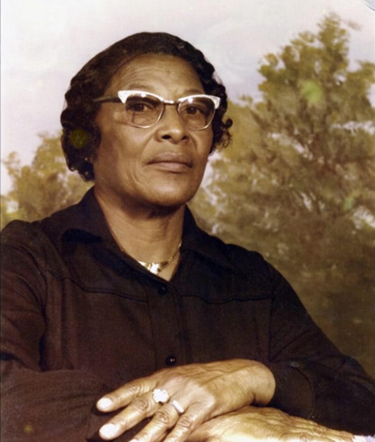 Image: Recy Taylor in an undated family photo