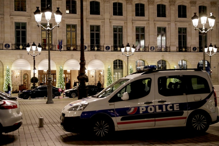 Image: FRANCE-CRIME-ROBBERY-HOTEL-RITZ