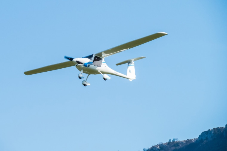 Image: The Pipistrel Alpha Electro