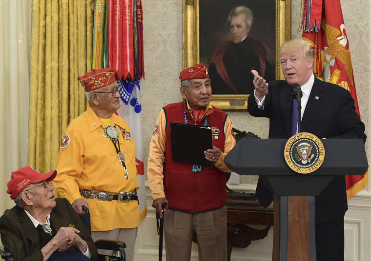 Donald Trump,Thomas Begay,Peter MacDonald