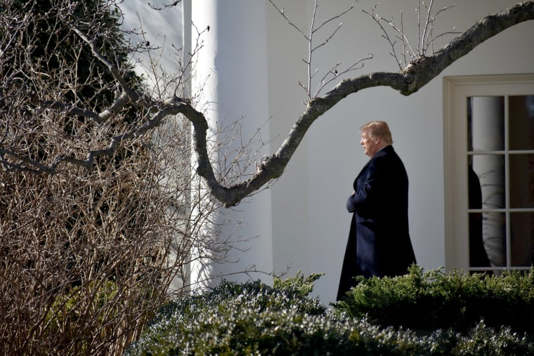 Image: President Trump departs the White House in Washington, DC to Camp David on Jan. 5, 2018.