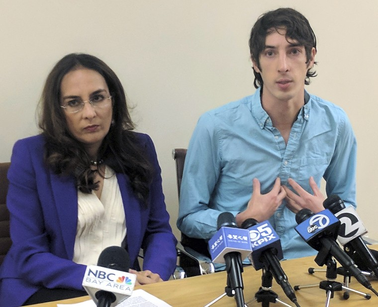 Image: James Damore, Harmeet Dhillon
