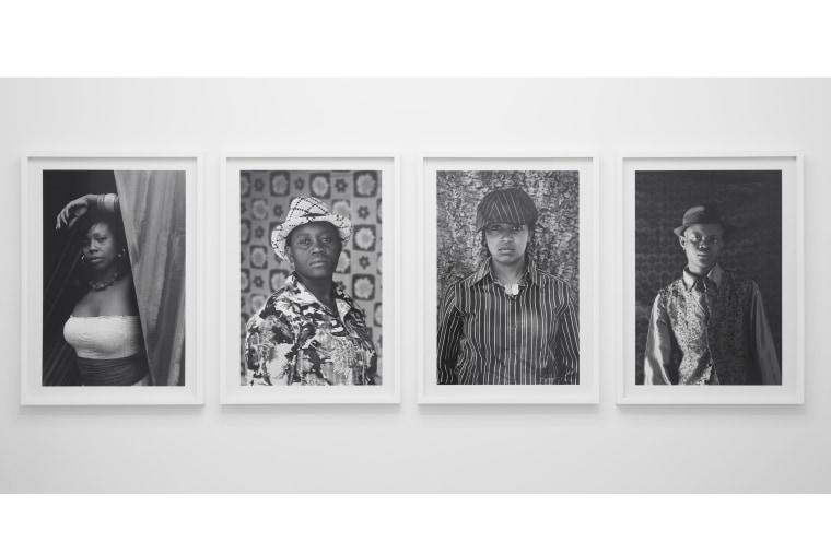 Image: Photographs apart of the LGBTQI+: Zanele Muholi exhibition.