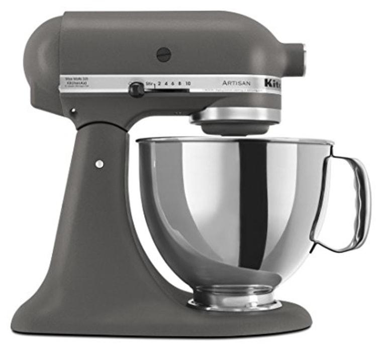 Kitchenaid mixer in gray