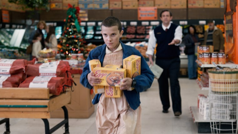 Image: STRANGER THINGS, Millie Bobby Brown in 'Chapter Six: The Monster', (Season 1, Episode 6, aired July