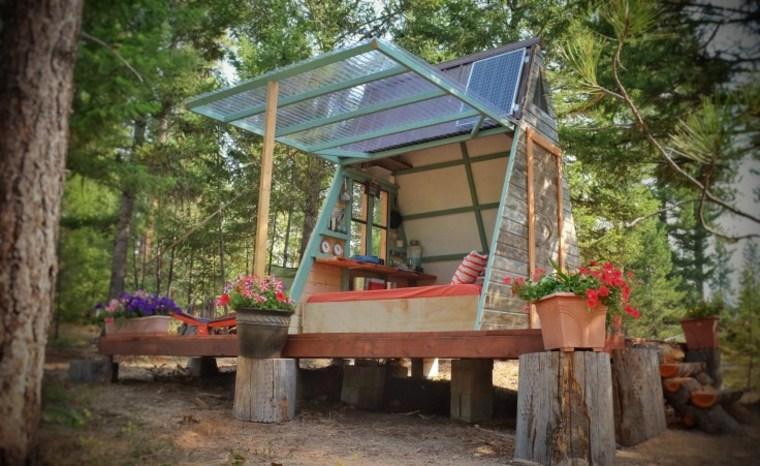 A-frame cabin