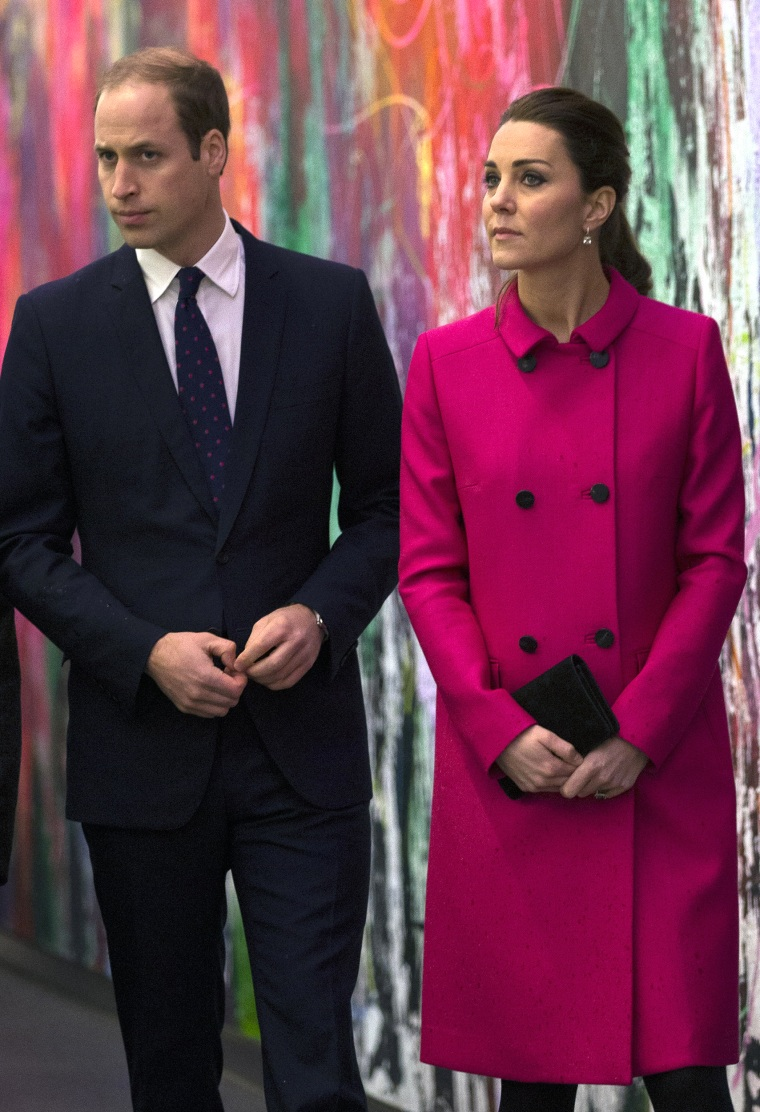 The Duke And Duchess Of Cambridge Visit The National September 11 Memorial Museum