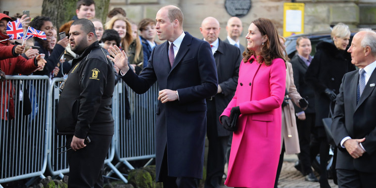 Image: The Duke and Duchess Of Cambridge Visit Coventry