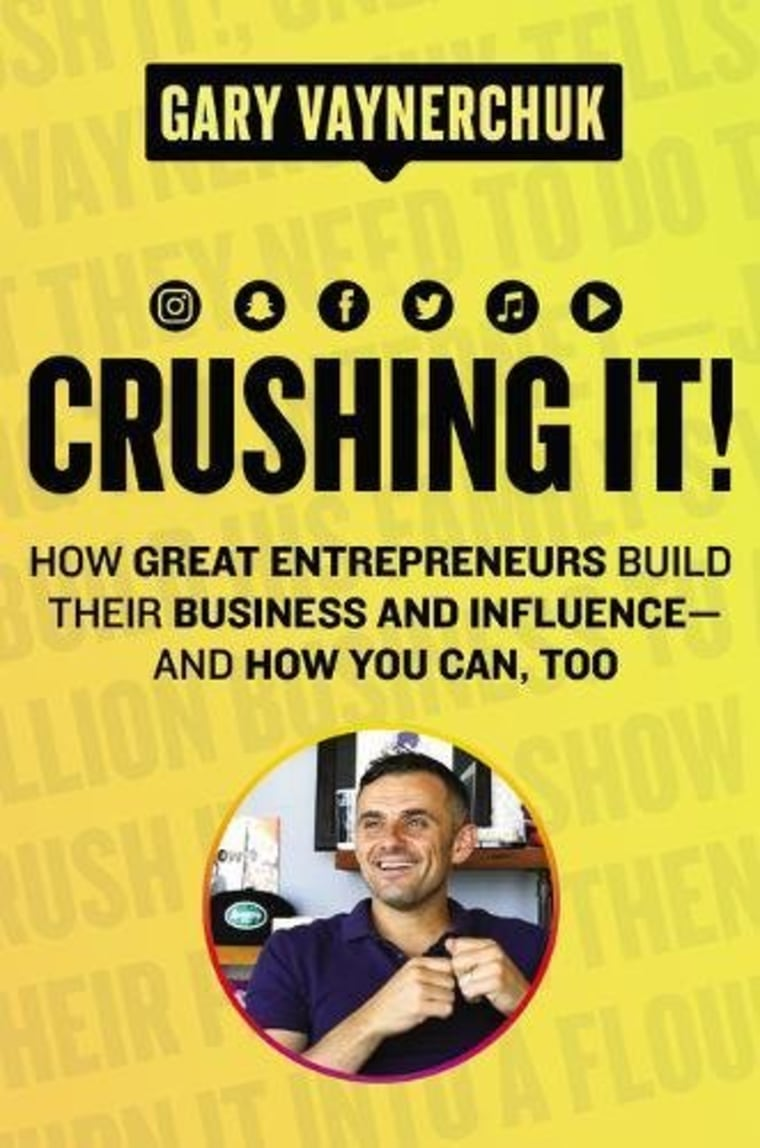 Crushing It! Book by Gary Vaynerchuk
