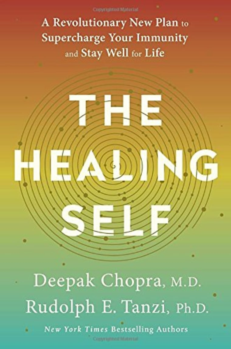 The healing self book by Deepak Chopra, M.D. and Rudolph E. Tanzi
