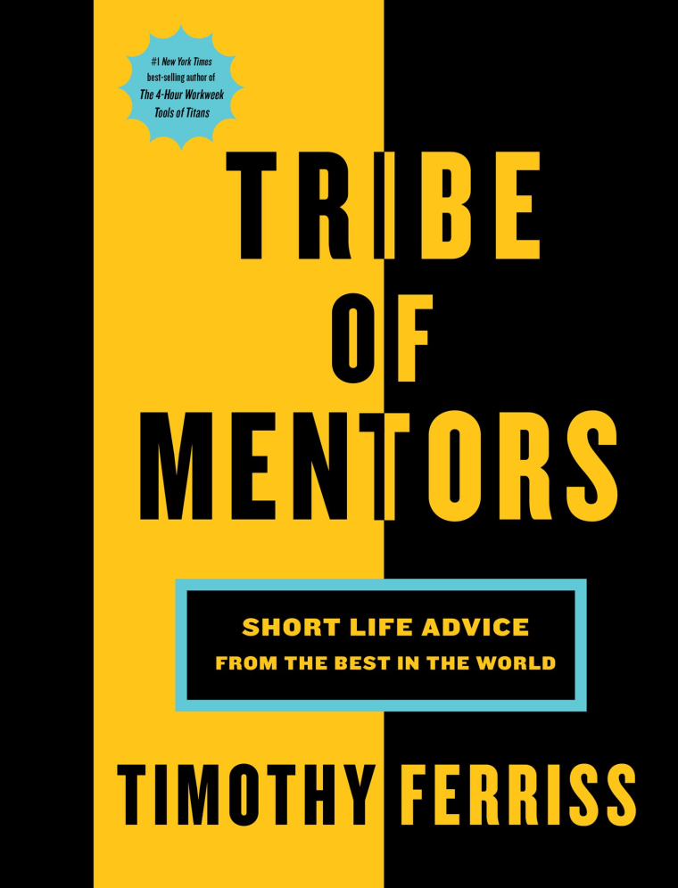 Tribe of Mentors book by Tim Ferriss