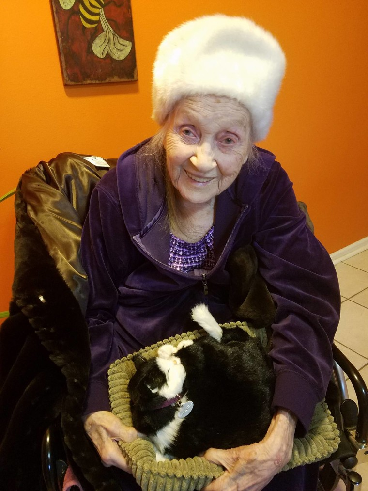 Eunice Modlin is 102