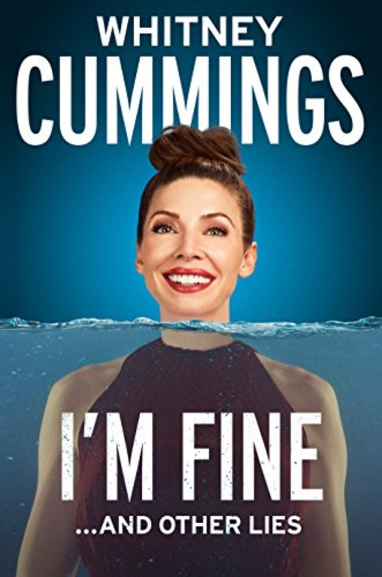 "Whitney Cummings book cover ""I'm Fine"""