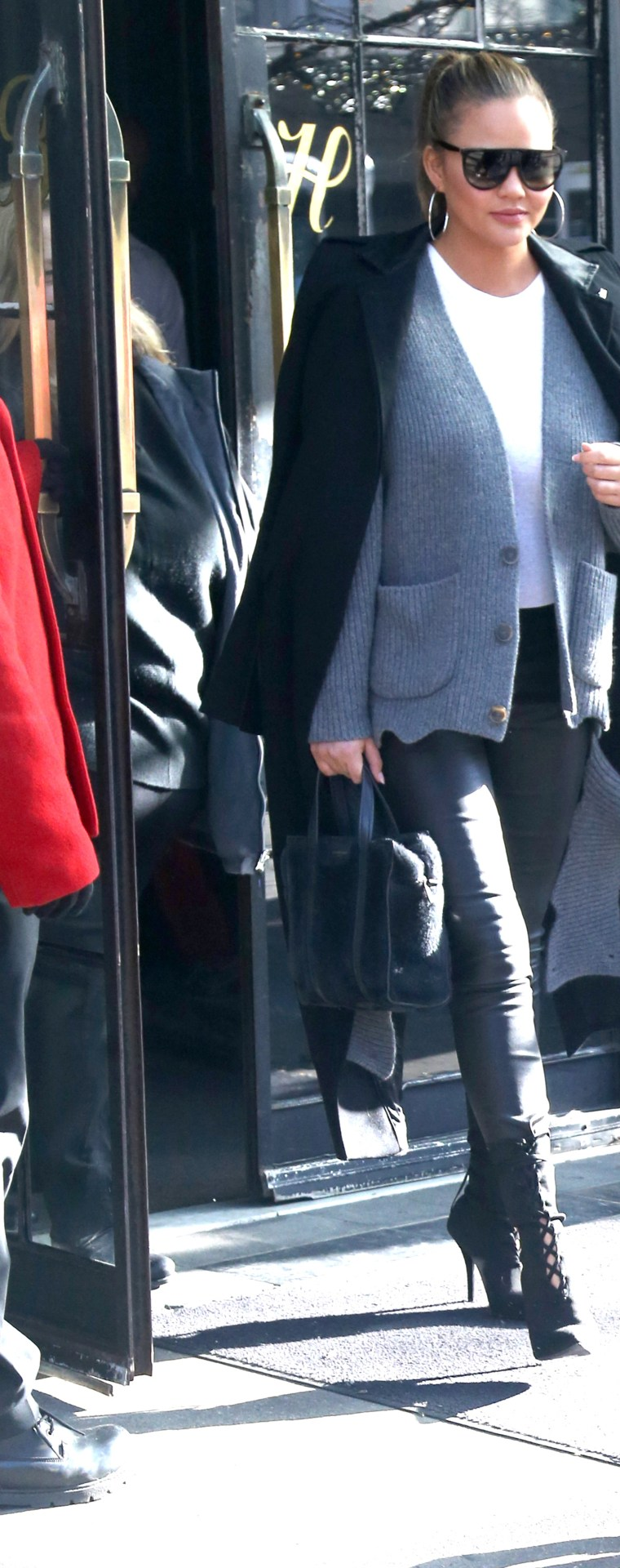 Chrissy Teigen & John Legend Sighting, NYC