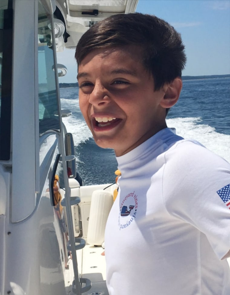 10-year-old boy Nico Mallozzi who died of the flu