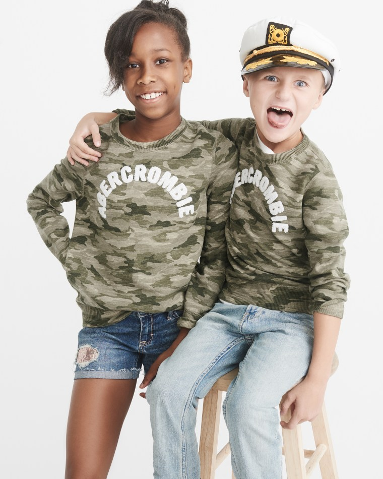 The line, released through the company's Abercrombie Kids division, will feature 25 styles of tops, bottoms and accessories.