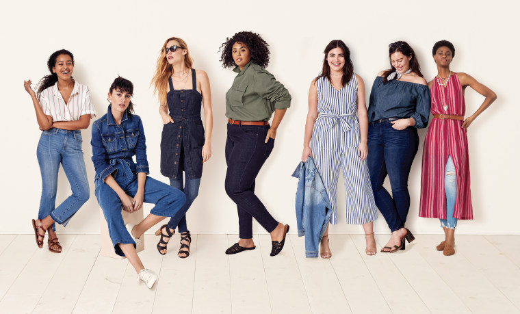 Target's Universal Thread denim line photo