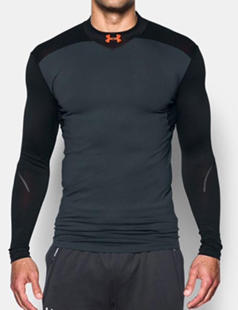Under Armour mock shirt