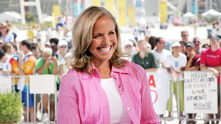 Katie Couric in Athens, Greece