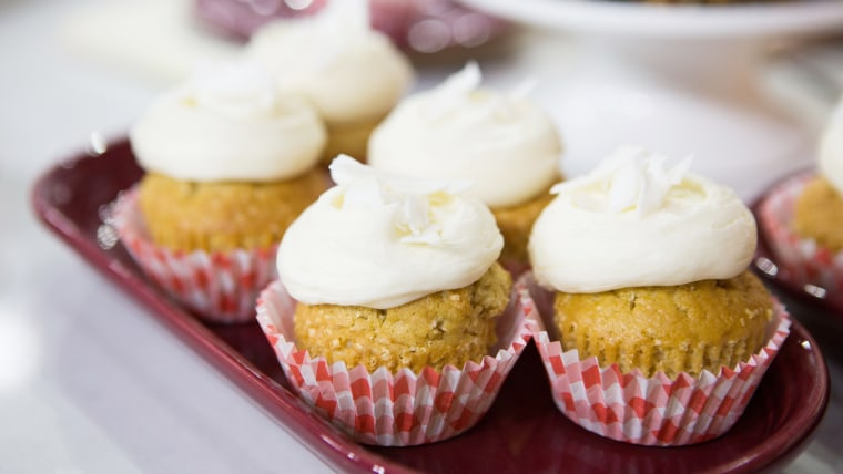 Elizabeth Chambers' Coconut Cupcakes + Pecan Squares