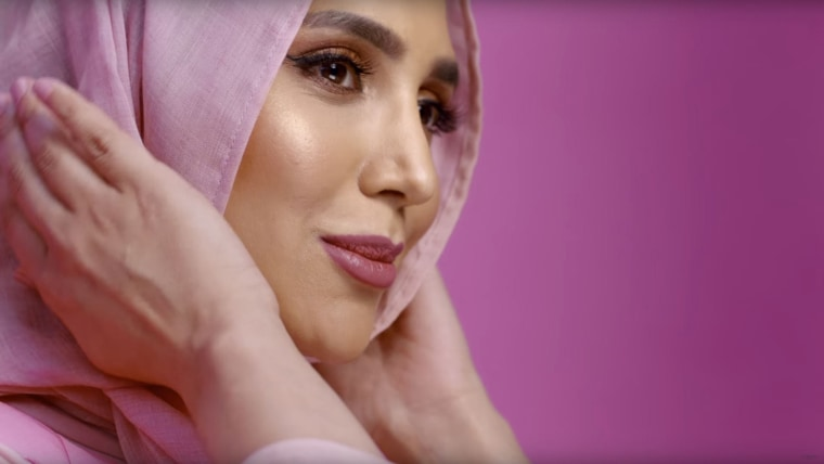 British blogger Amena Khan wears a hijab in her new ad for the brand's Elvive campaign in the UK.
