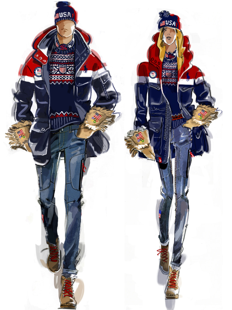 2018 Winter Olympics US opening ceremony parade jackets