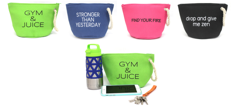 Workout accessory pouch