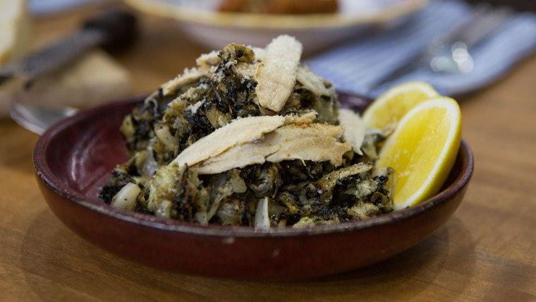 Cabbage Caesar Salad