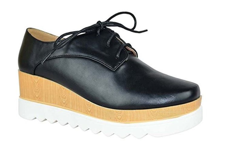 ea3d8511447 Savannah Guthrie's polarizing platform shoes leave America divided