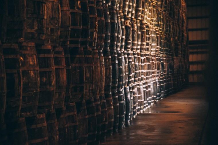 TABASCO white oak barrels