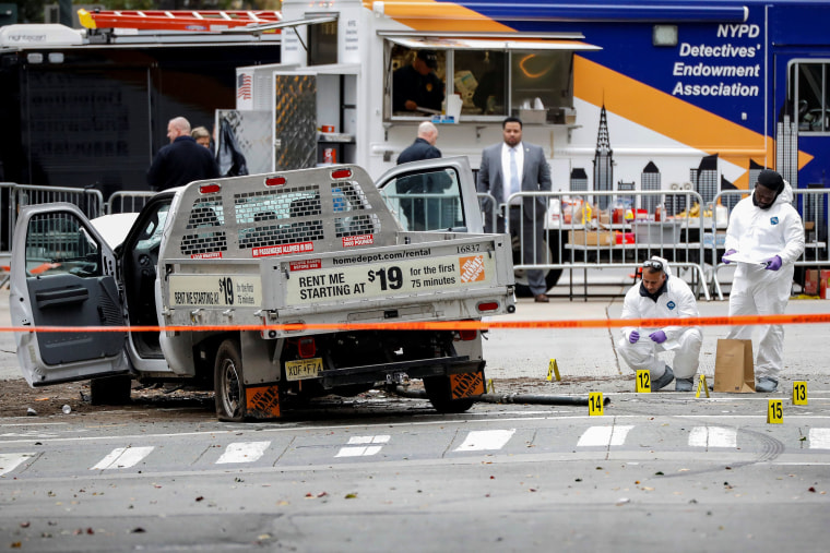 Image: Attack in NYC