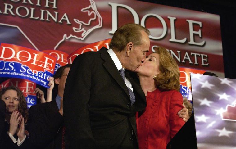 Image: Elizabeth Dole Declares Victory In North Carolina Senate Race