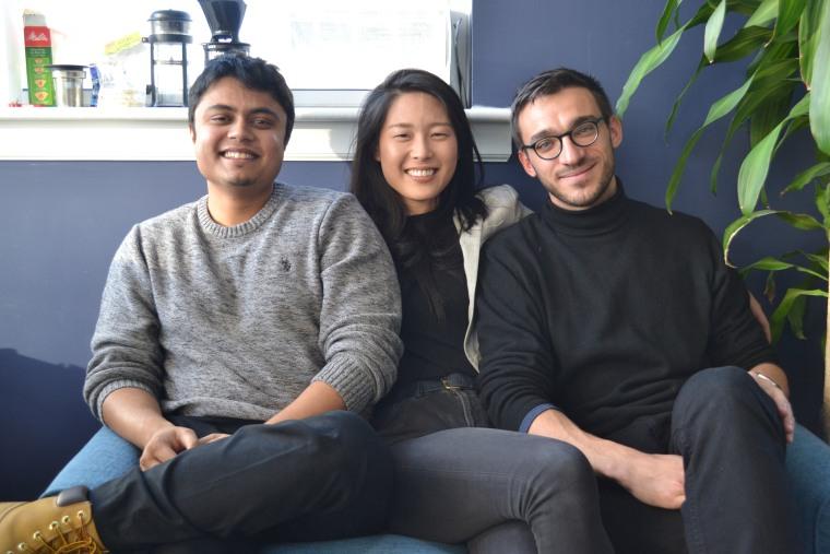 Abhishek Chandra, April Koh, and Adam Chekroud, the three founders of Spring Health.