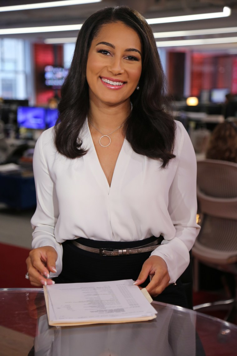 Morgan Radford was hired by NBC about three years ago.