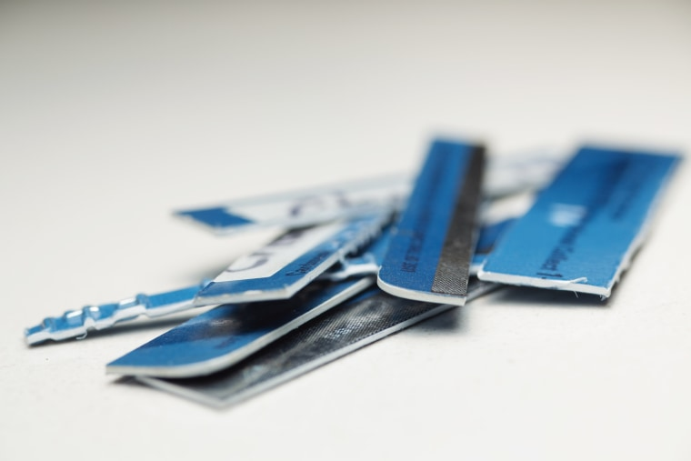Image: Shredded credit cards