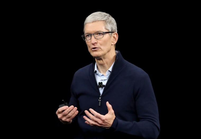Image: Apple CEO Tim Cook speaks