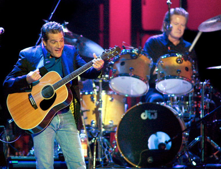 Image: Glenn Frey of the Eagles performs in Las Vegas