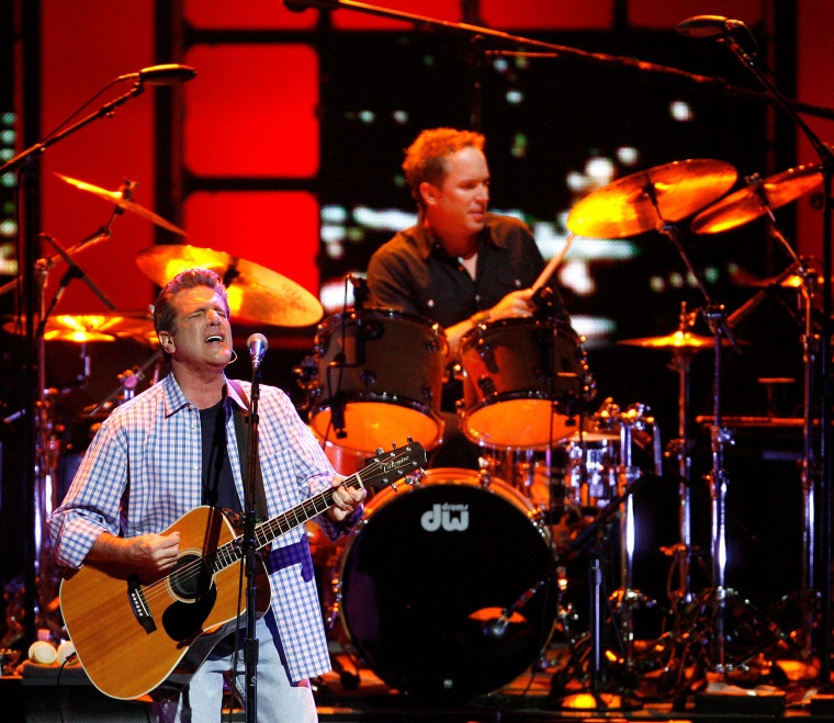 Image: Glenn Frey performs with the Eagles in Los Angeles